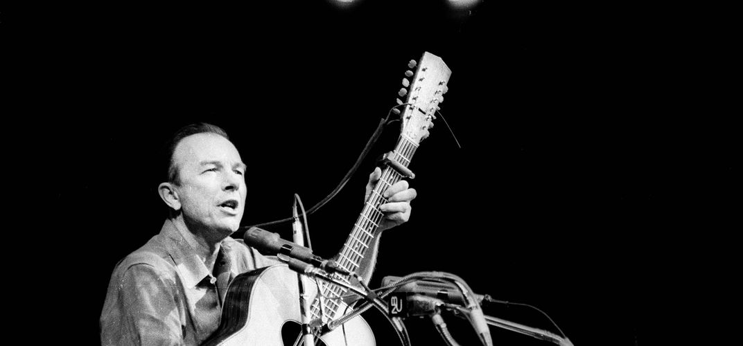 Caption: Folkway's Pete Seeger Collection Wins a Grammy