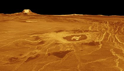 Venus (Probably) Has Active Volcanoes