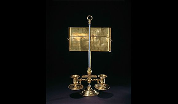 George Washington Farewell Address Candle Stand