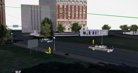 Where Was Jfk Shot Map An Interactive 3D Model of the JFK Assassination Site, Grassy