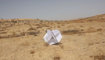 A Swarm of Tumbleweed-Like Robots Might Be the Ideal Desert Data Gatherers