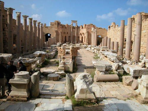Ruins of Leptis Magna