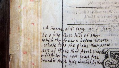 Is This John Milton's Annotated Copy of Shakespeare's First Folio?