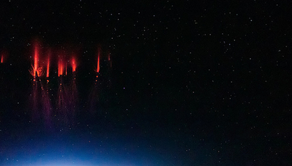 Scientists Capture Rare Photographs Of Red Lightning Science Smithsonian Magazine