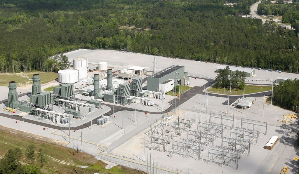 From above, the McIntosh plant looks like a standard natural gas power plant, but directly half a mile below the surface lies a unique energy storage mechanism.