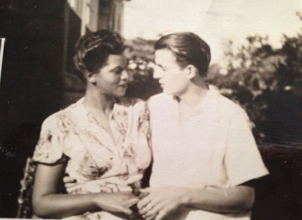 Elinor and Frederick, summer 1947