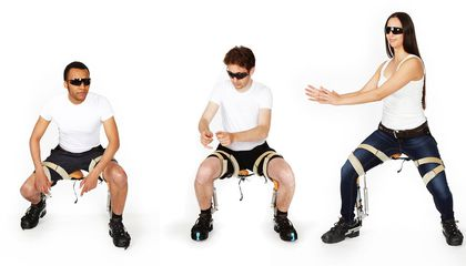 Sit Anywhere on a Chair You Can Wear