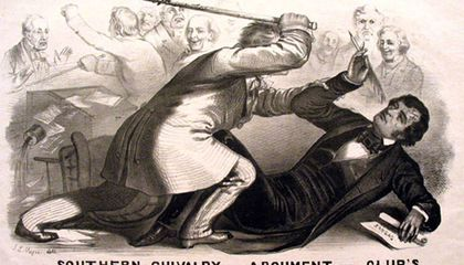 Before the Civil War, Congress Was a Hotbed of Violence