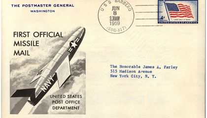 Mail Delivery By Rocket Never Took Off