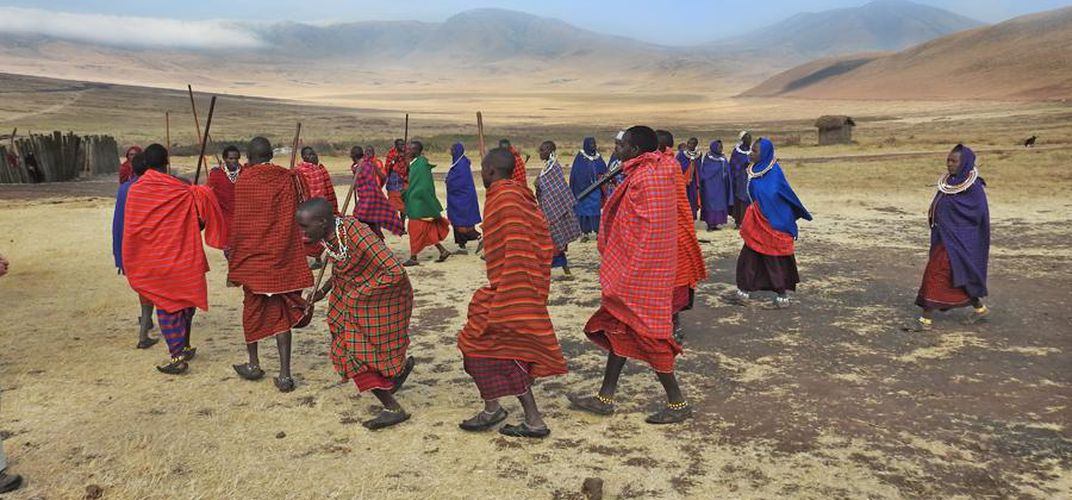 Traditional Maasai dance. Credit: Kirt Kempter