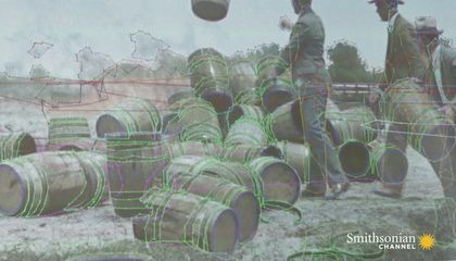 How Colorized Historical Footage Is Painstakingly Made