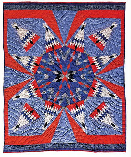 A Spectacular Collection Of Native American Quilts Arts Culture New Native American Quilt Patterns