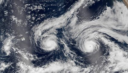 The Science Behind Hawaii's Double Hurricane
