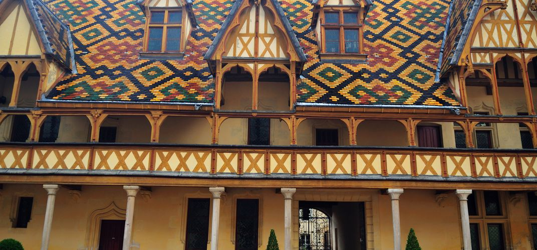 The Hotel-Dieu in Beaune