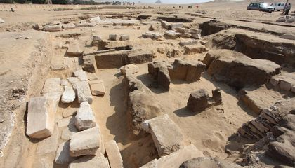 Remains of Temple to Ramses II Discovered Near Cairo