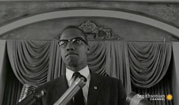 Preview thumbnail for video'Malcolm X's Fiery Speech Addressing Police Brutality