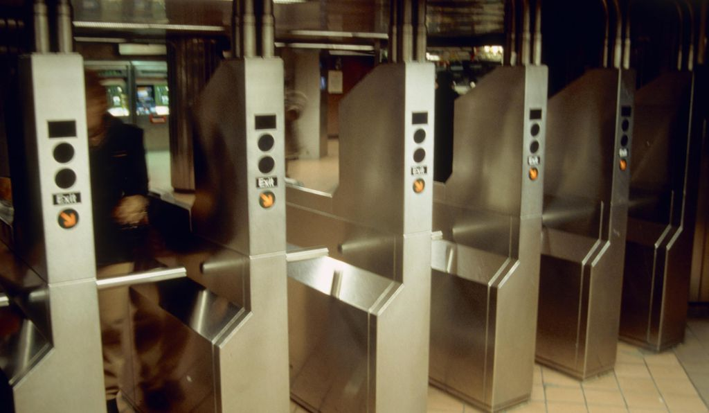 At one time, sucking subway tokens out of turnstiles was a common trick for snagging a free ride.