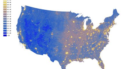 National Park Service Map Shows The Loudest, Quietest Places In the U.S.
