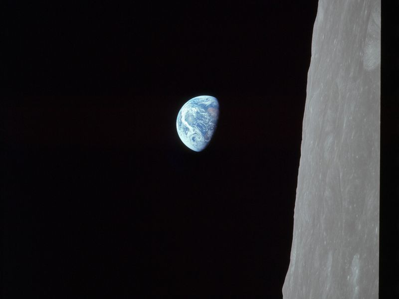 Who Took The Legendary Earthrise Photo From Apollo 8