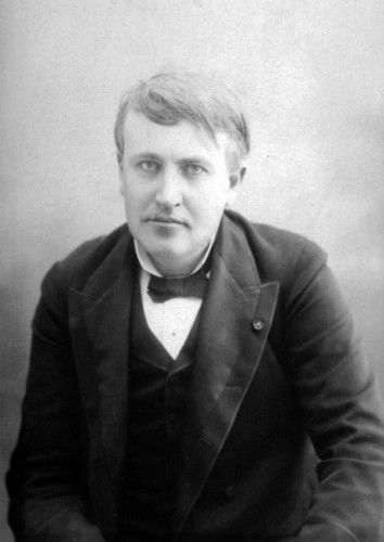 Thomas Edison gave up on X-rays, fearing they were too dangerous.