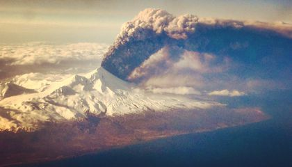 Alaska's Most Active Volcano Is at It Again