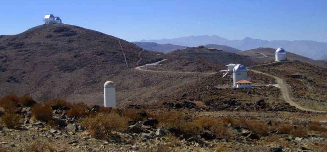Approaching Las Campanas Observatory