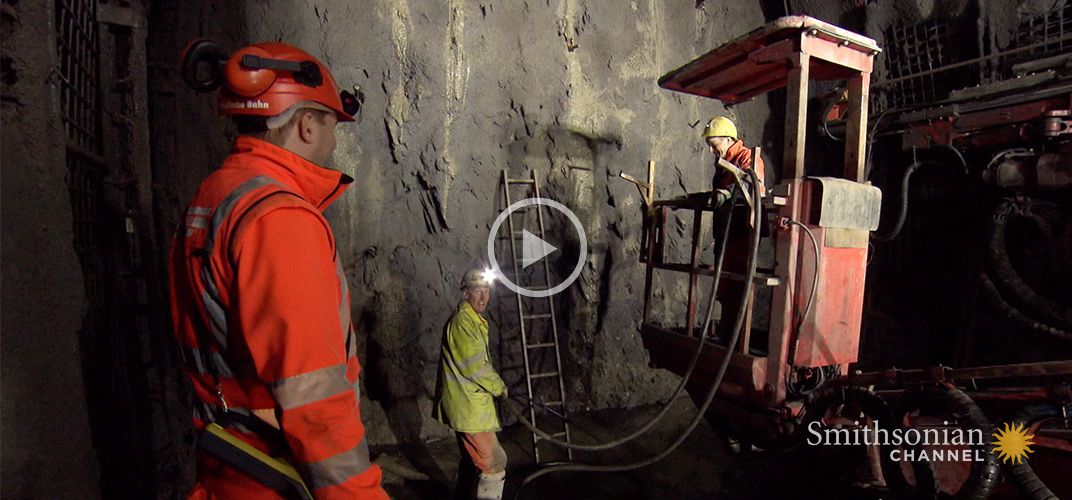 Caption: This Is How You Stop an Old Train Tunnel From Flooding