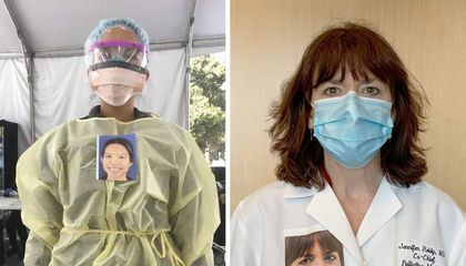 Portrait Project Reveals the Faces Behind Health Care Workers' Protective Gear