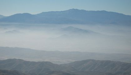 Signficant Air Pollution Plagues Almost All U.S. National Parks