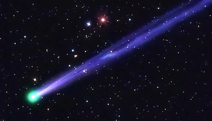 Fireworks Not Your Thing? Then Look Out For a Comet on New Year's Eve