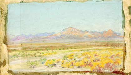 Howard Russell Butler, Desert Landscape (#69), n.d., pastel on paperboard, Smithsonian American Art Museum, Gift of Howard Russell Butler, Jr., 1978.65.4