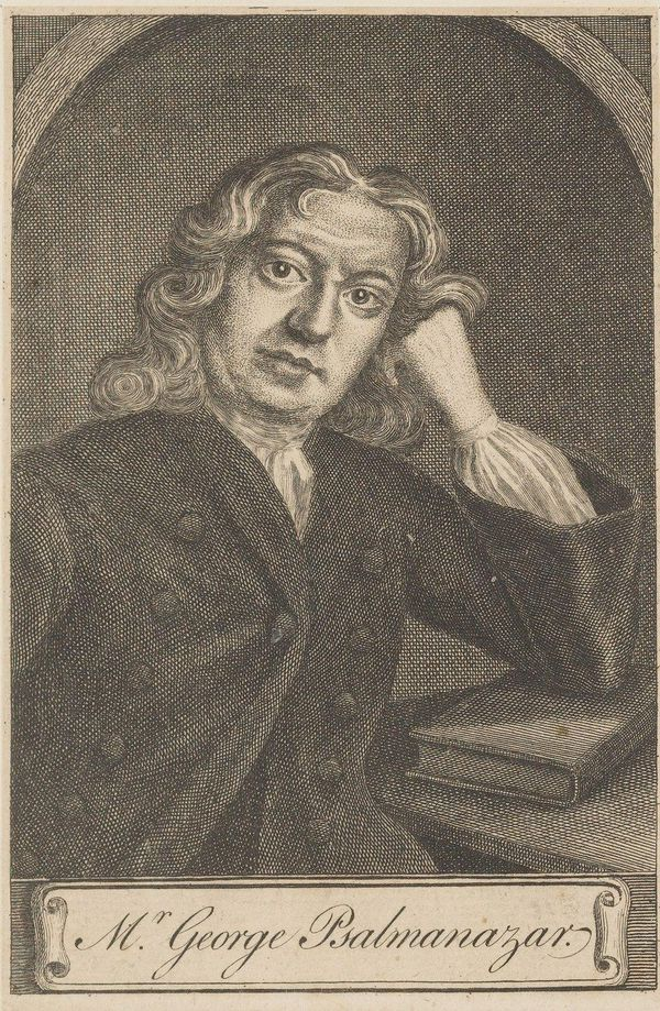 Portrait of George Psalmanazar