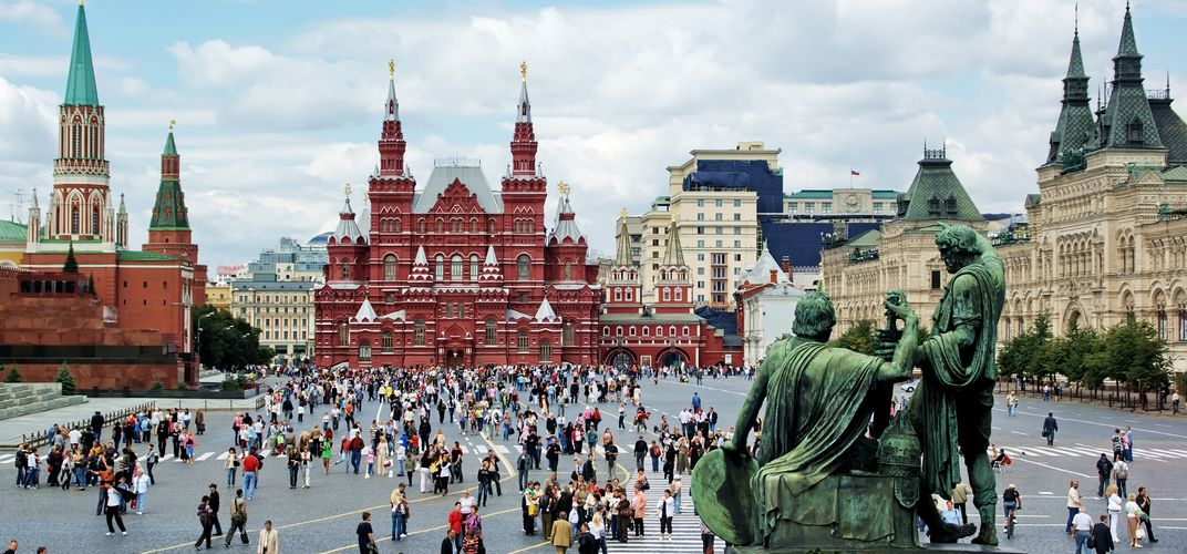 Moscow's Red Square, a World Heritage site