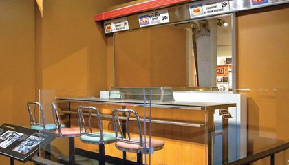 Greensboro Woolworth's Lunch Counter