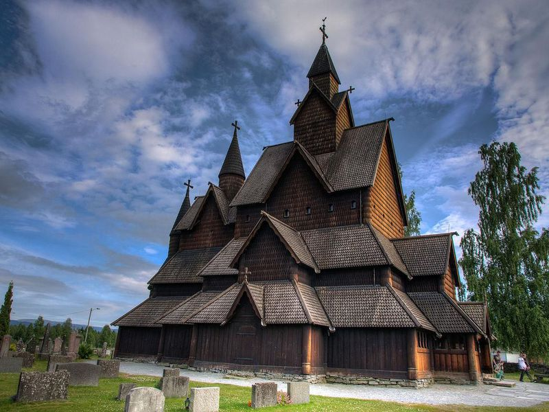 Norways Medieval Wooden Churches Look Plucked From A Fairy Tale