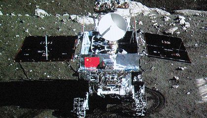 Yutu Peers Inside the Moon