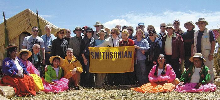 Smithsonian travelers in Peru. Credit: Jeff Cole