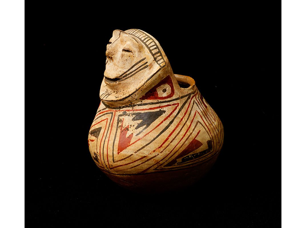 An exclusive look at the greatest haul of native american artifacts federal agents and archaeologists recovered a vessel dating from ad 700 to 1400 mark laita freerunsca Images