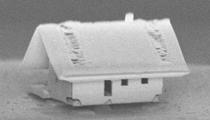 Scientists Built the World's Smallest House