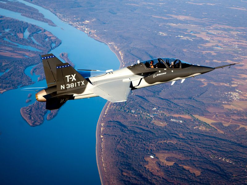 Boeing and Saab's T-X trainer