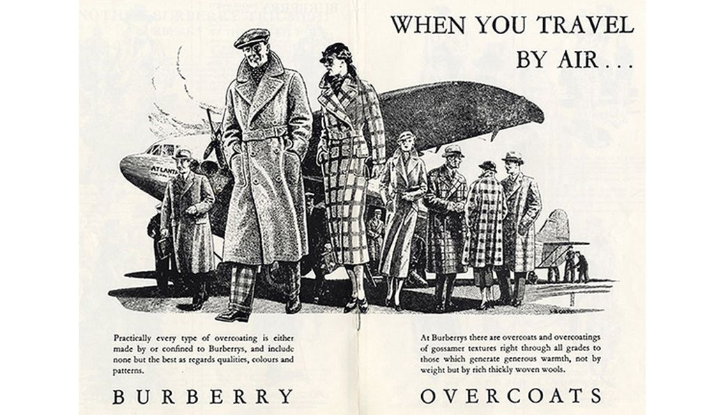 Before, during and after World War I, Burberry was one of the signature manufacturers of trench coats.