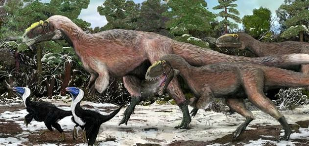 Scientists Discover a Gigantic Feathered Tyrannosaur  25bcb4857b