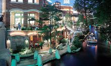 The city's famous Paseo del Rio, or Riverwalk