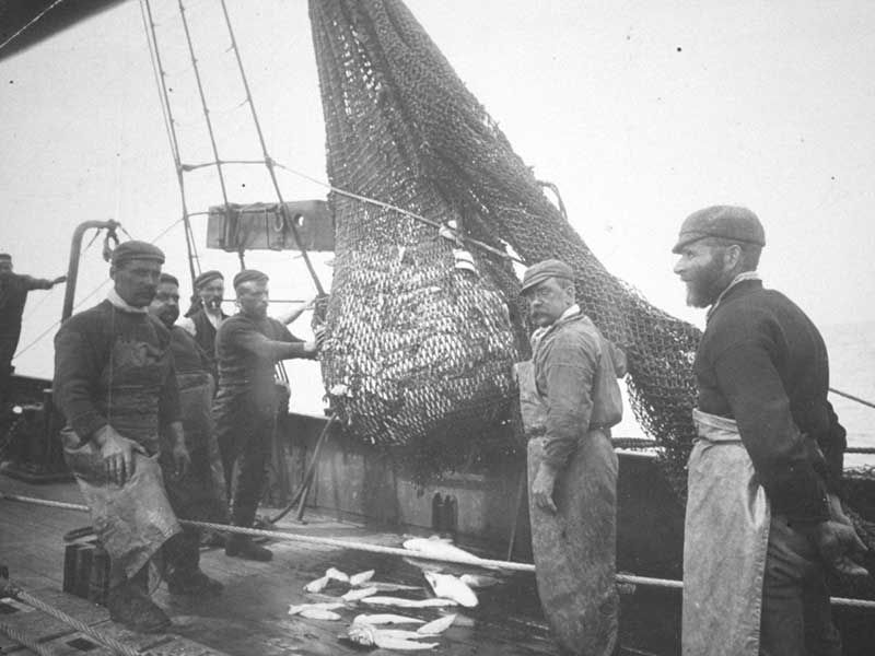 Fishing Net From the 1890s