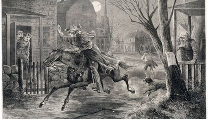 The Midnight Ride of Paul Revere and Some Other Guys