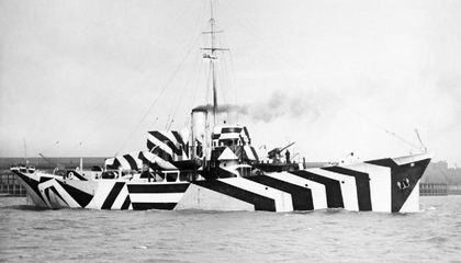When the British Wanted to Camouflage Their Warships, They Made Them Dazzle