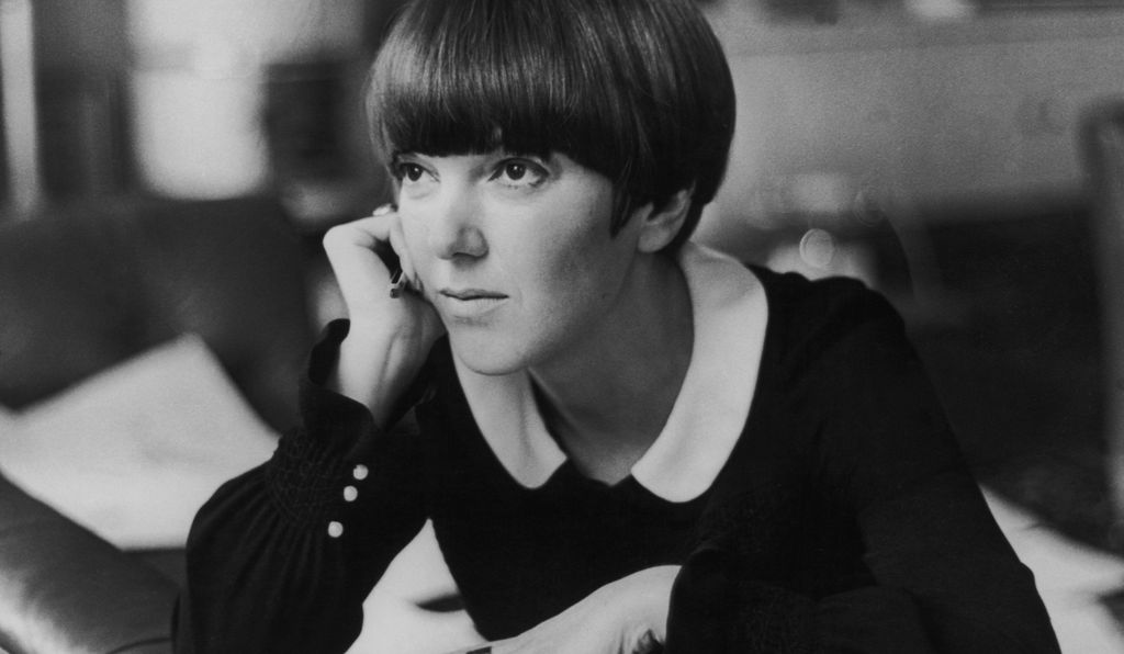 Mary Quant at her apartment in Draycott Place, Chelsea, London, c.1965