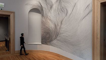 Museum Visitors Can Play This Wall Art Like an Instrument
