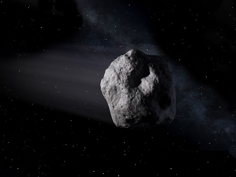 sure earth could get hit by a deadly asteroid but there s an upside