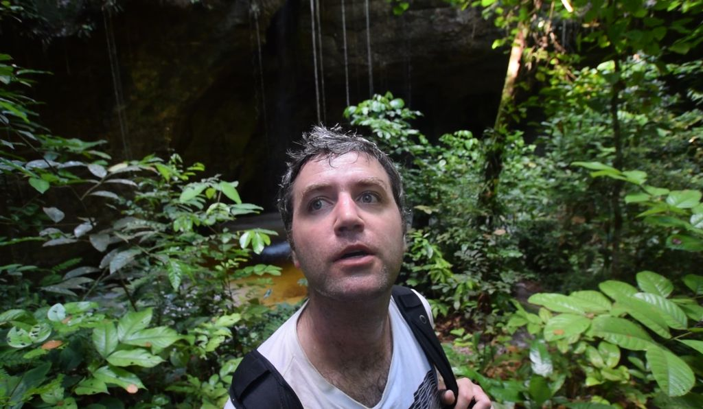 Andy Thomas treks through the hot and humid wilds of the Amazon.